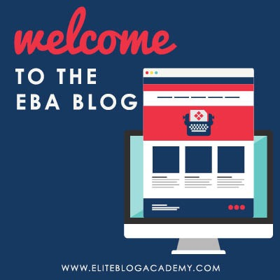 It's been a long time coming, but we are happy to finally announce the arrival of the EBA Blog. Check back weekly for blogging tips & business advice you can't afford to miss.