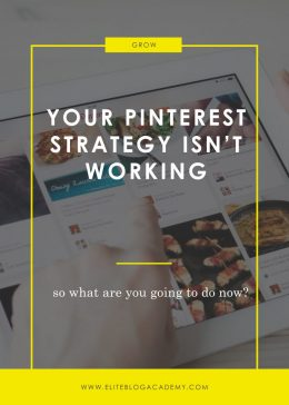 Your Pinterest Strategy Isn't Working