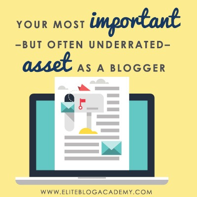 It's easy to assume that building a successful business online is all about page views, but your biggest asset as a blogger isn't even your blog! #blogging #bloggingtips #onlinebusiness #entrepreneur #mompreneur #momboss
