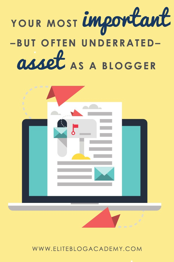 It's easy to assume that building a successful business online is all about page views, but your biggest asset as a blogger isn't even your blog!