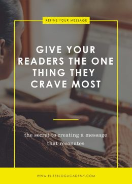 Give Your Readers the One Thing They Crave Most