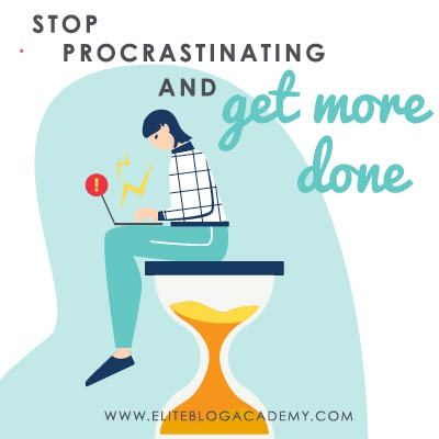 Ready to stop procrastinating and get more done? There's no sense beating yourself up for putting things off. Here's why fear might be holding you back (and how to overcome it!)