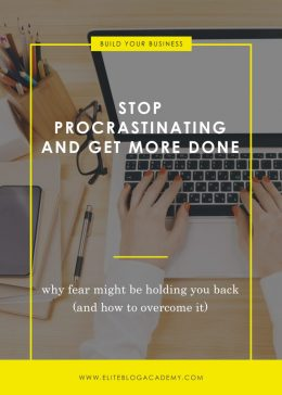Stop Procrastinating And Get More Done Blog Header