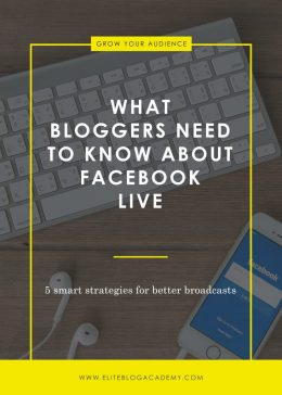 What You Need To Know About Facebook Live