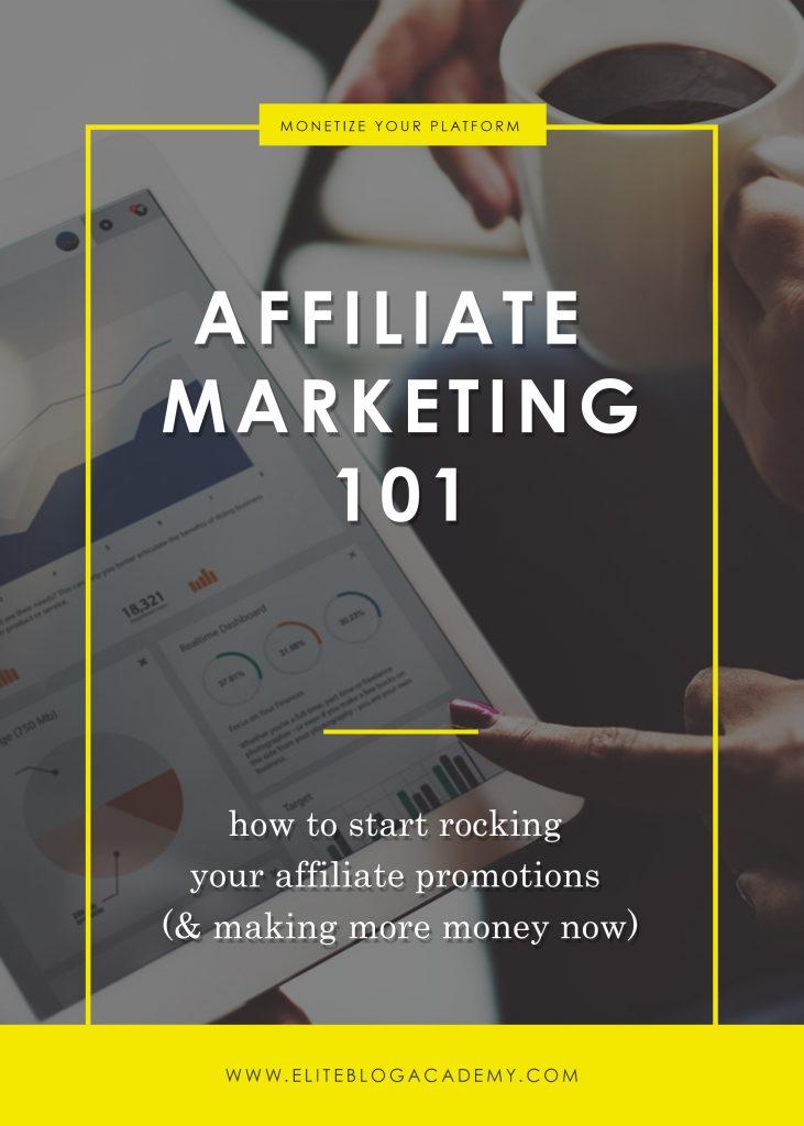 Affiliate Marketing 101