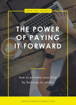 The Power Of Paying It Forward