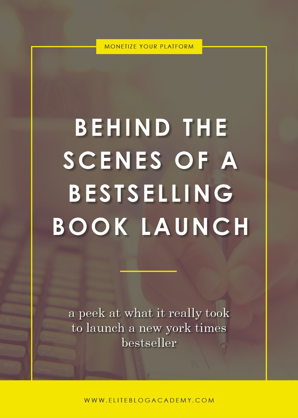 Behind The Scenes Of A Bestselling Book Launch