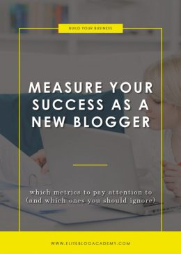 Measure Your Success as a New Blogger Blog Header