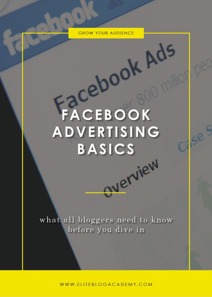 Facebook Advertising Basics