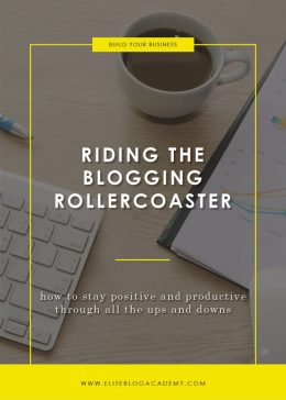 Riding the Blogging Rollercoaster