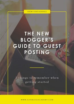 The New Blogger's Guide to Guest Posting Blog Header