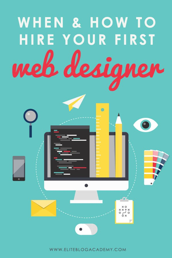 Want to upgrade your blog's look but don't know where to start? Check out these 11 things to look for when hiring your first website designer!