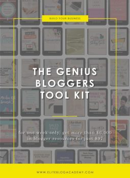 The Genius Blogger's Tool Kit (First Access to the ACTIVATE 2017 Videos!)