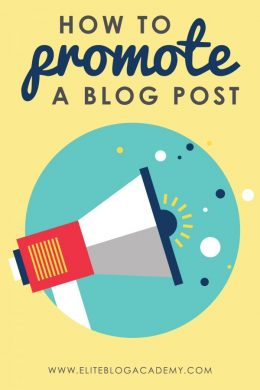 How to Promote Your Next Blog Post