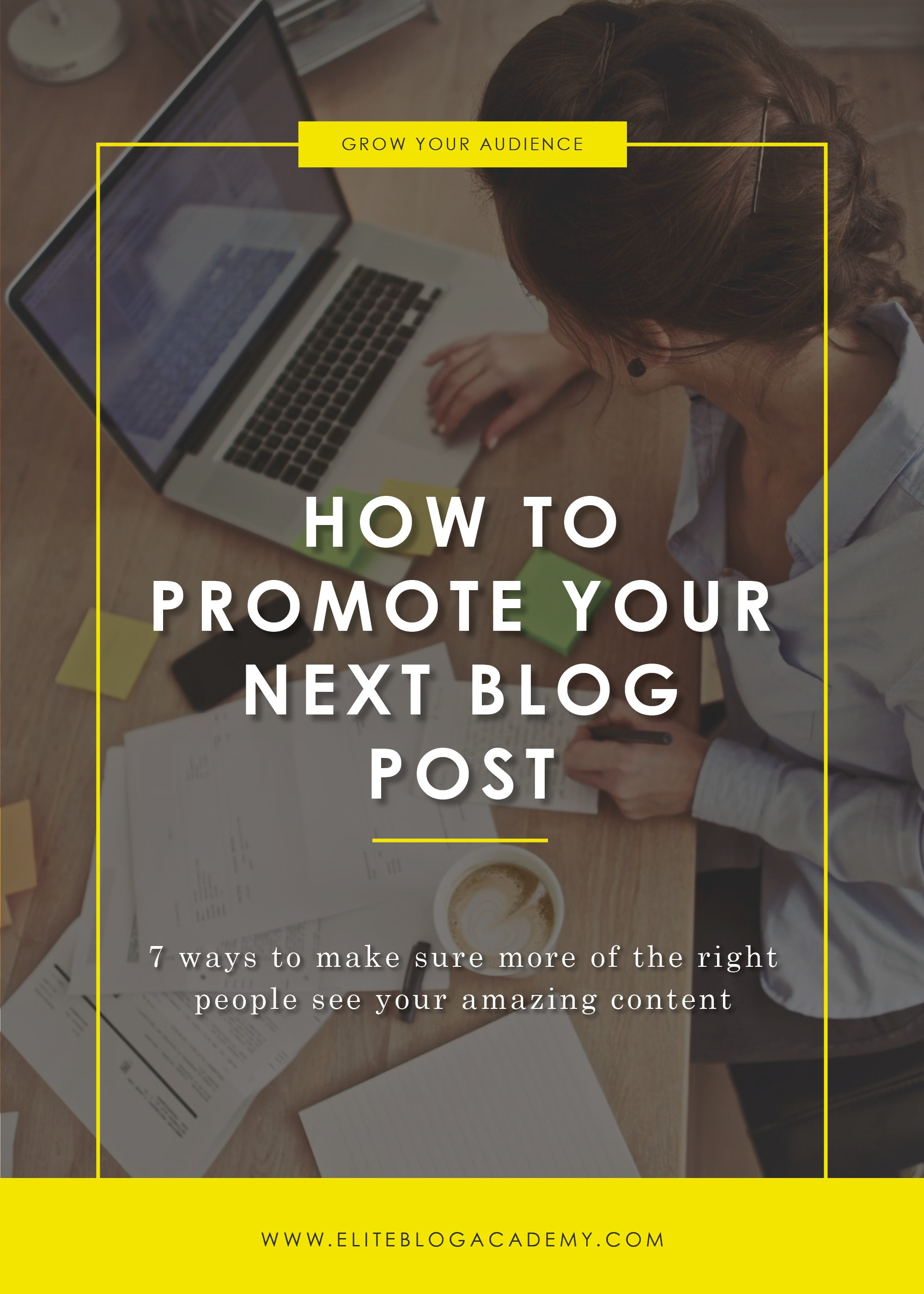 How To Promote Your Next Blog Post Blog Header