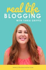 Real Life Blogging: Tania Griffis