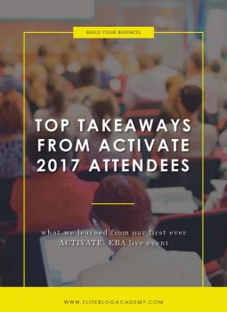 Top Takeaways From ACTIVATE 2017 Attendees