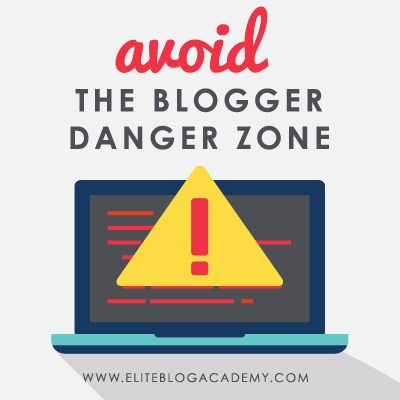 Struggling to make the income you want (and deserve!) with your blog? Don't miss these blogging dangers to avoid and learn to make more income online!  #blogging #makemoneyonline #makemoneyblogging