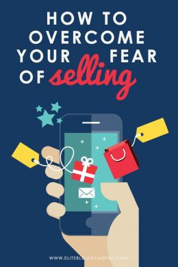 Hesitant to sell products on your blog? Selling can be scary, but it can also transform your business! Check out these tips to overcome the fear of selling and turn your blogging business into a money-making machine!
