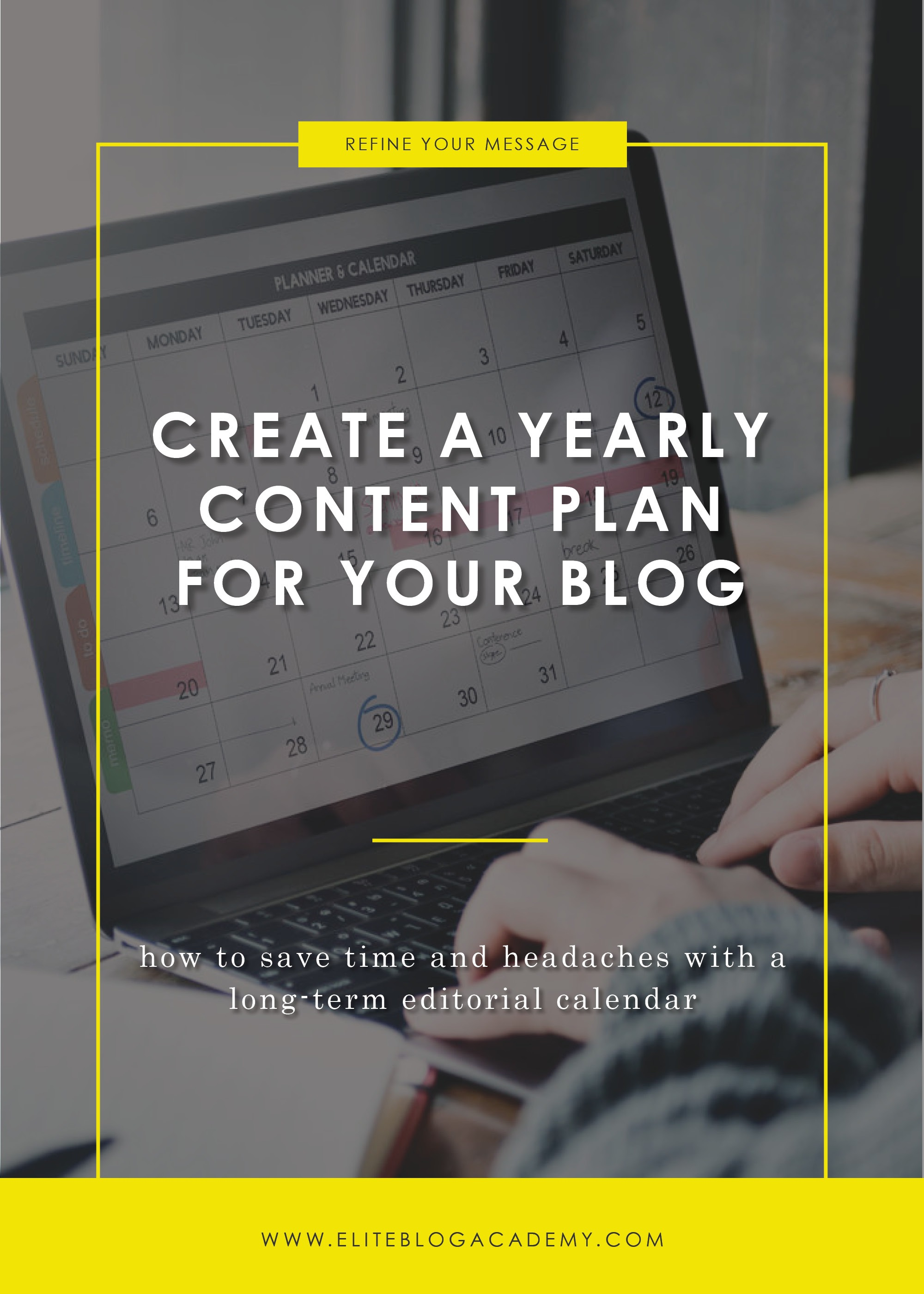 How to Create a Yearly Content Plan | Elite Blog Academy | Blogging 101 | How to Brainstorm Blog Content | Scheduling Blog Content | Creating Blog Posts | How to Make Money Blogging | Popular Blog Post Topics