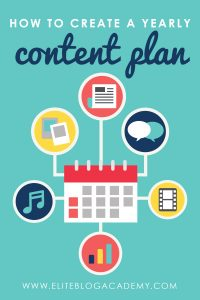 How to Create a Content Calendar for an Entire Year
