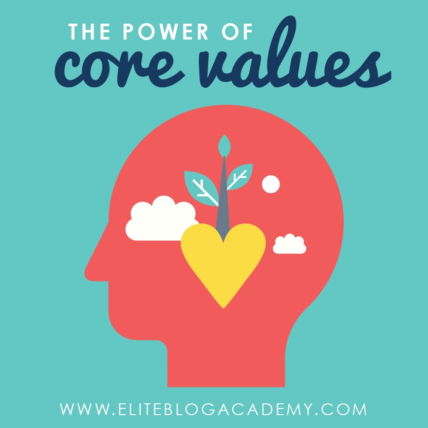 What drives you to move your blog forward? Our core values are at the heart of who we are as bloggers and as people, and in this post, we're looking at how to use those core values to keep moving forward in our blogging journey (and in life!)