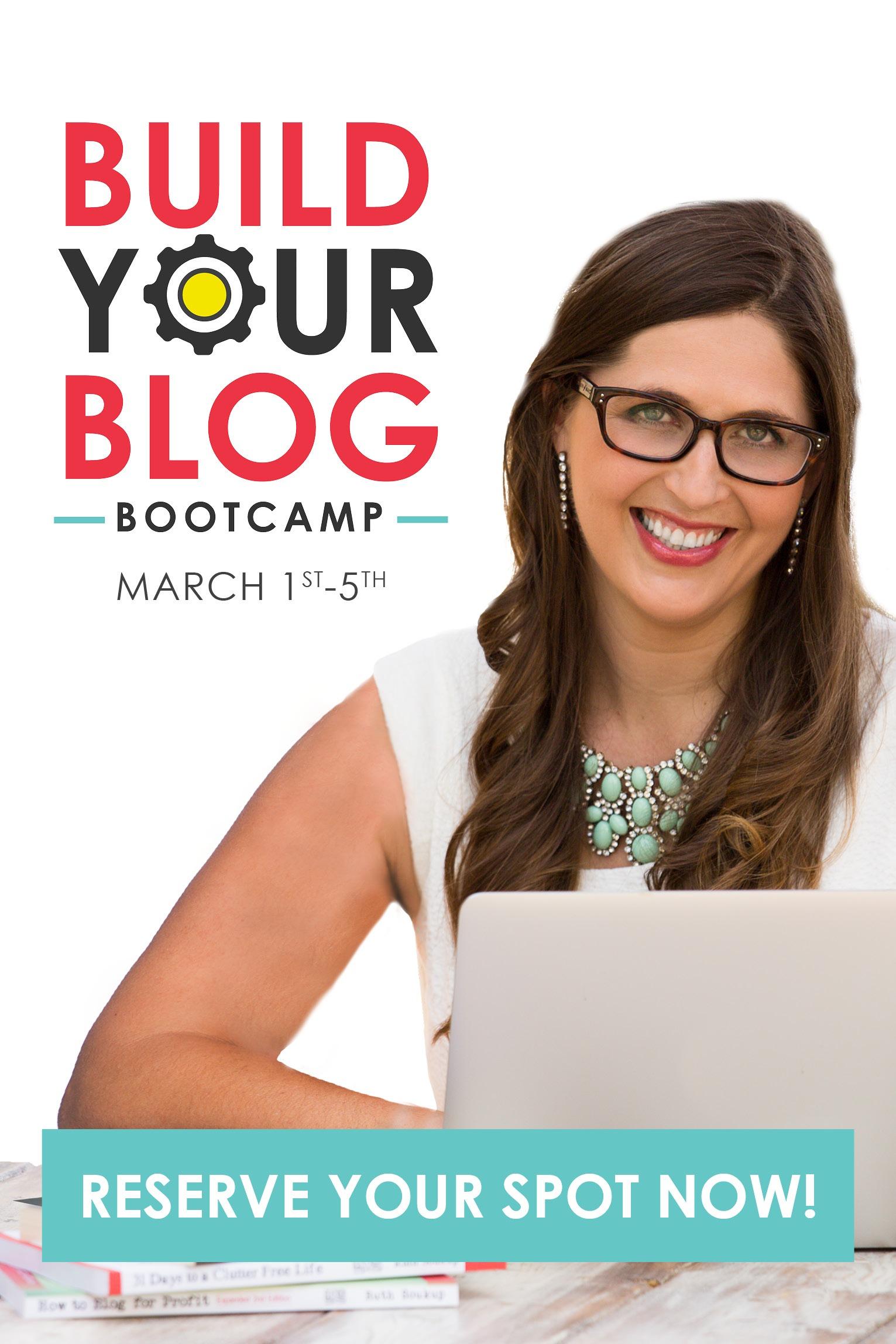 Build Your Blog Bootcamp-Pinterest