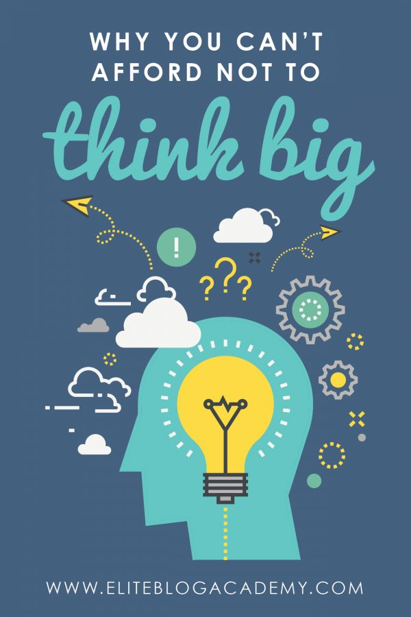 Bogged down with the day-to-day grind in your blog? Then it's the perfect time to take a step back, catch your breath, and think big about your blog! Check out this post on why you should think big about your blogging business!