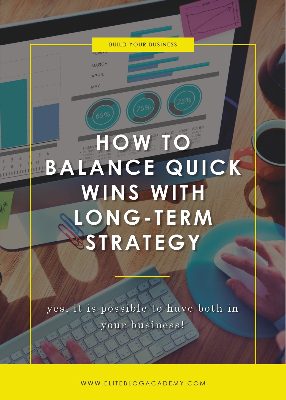 How to Balance Quick Wins with Long-Term Strategy​​​