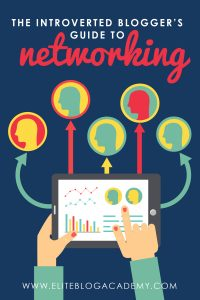 The Introverted Blogger's Guide to Networking