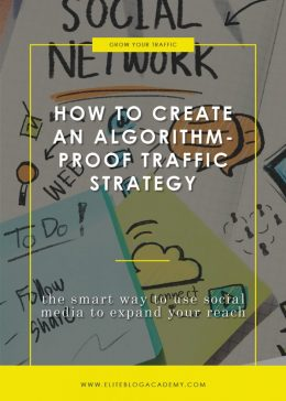 How to Create an Algorithm-Proof Traffic Strategy Blog Header