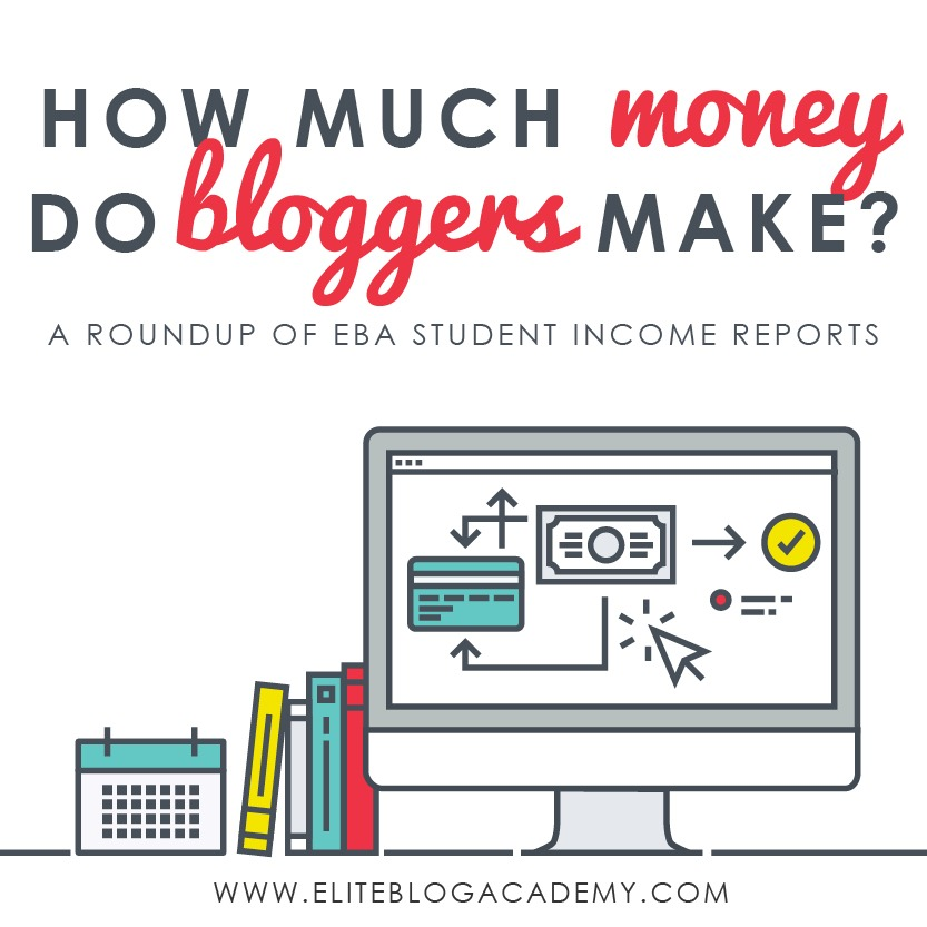 How Much Money Do Bloggers Make? | A Roundup of EBA Students Income Reports | Elite Blog Academy Income Reports | How to Make Money Blogging