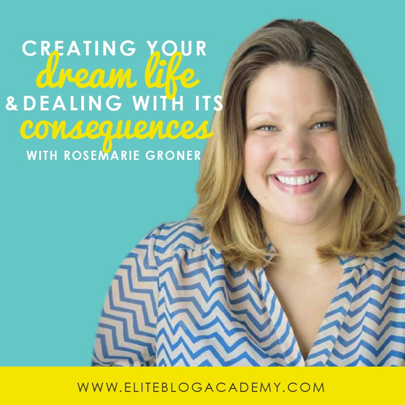 Creating Your Dream Life, & Dealing With its Consequences with Rosemarie Groner | Do It Scared Podcast with Ruth Soukup | Keep moving forward