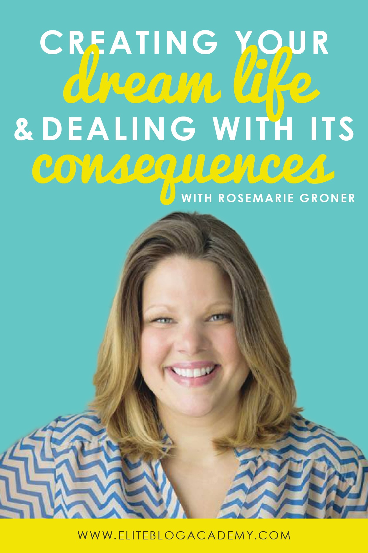 Ever dream about creating a successful blogging business so that all your  problems can disappear?  Unfortunately for all of us, that's not really the way life works! And while sometimes more money does bring a different set of problems, that's not a good reason to give up.  Don't miss these five important lessons from Rosemarie Groner about life, success, and bouncing back from curveballs!