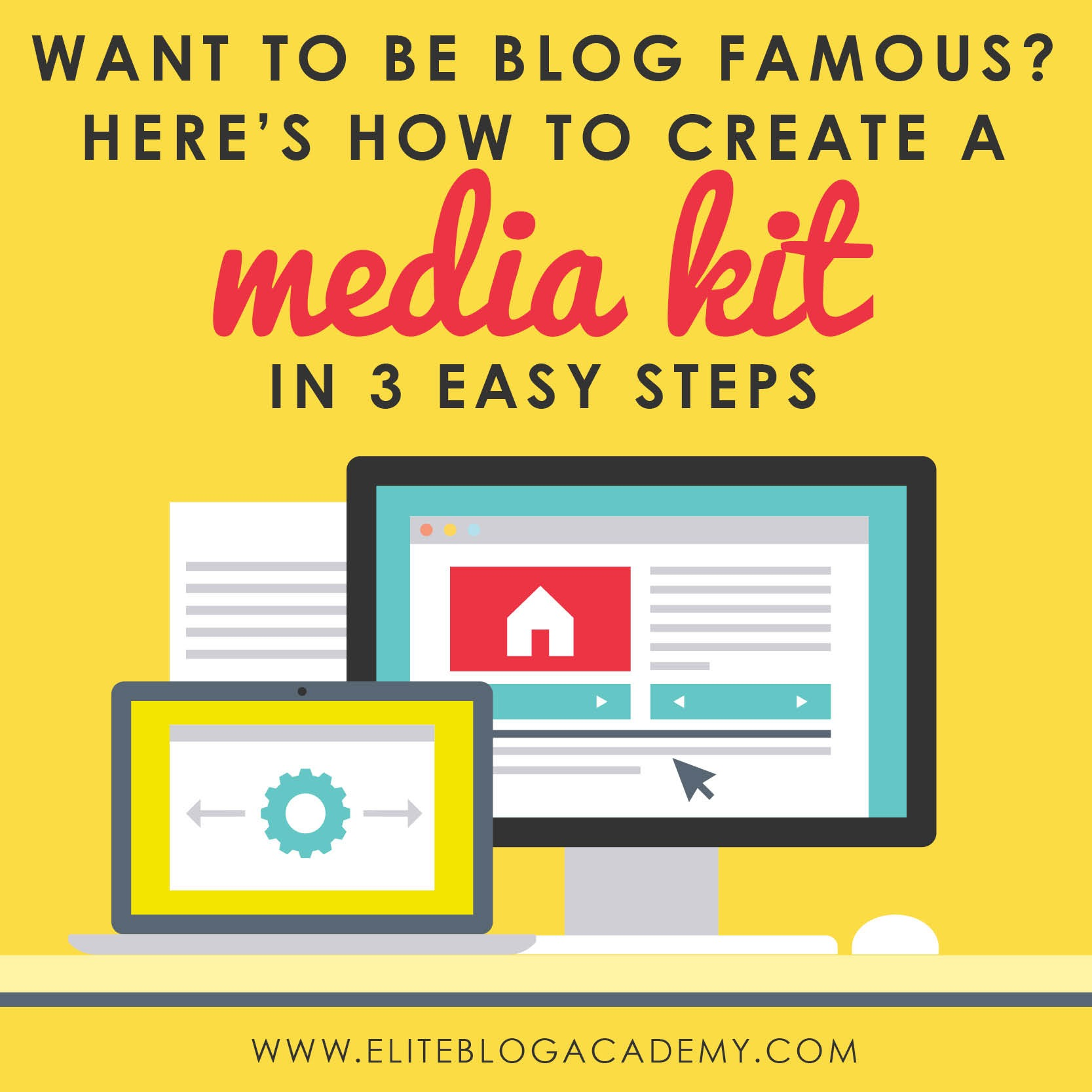 Ready to start treating your blog as business and begin working with brands? Having a media kit may seem overwhelming, here are 3 simple ways to create a media kit that will WOW prospective brands!