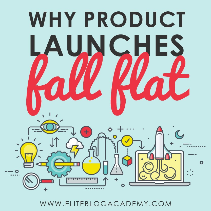 Worried your blog's first product launch will fail? Launching any new product can be scary, but don't let it stop you — you can actually learn from others' mistakes! Check out these 6 reasons product launches fail (and how to avoid them).