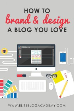 Feeling overwhelmed with your blog & business? Our graphic designers are here to help with 7 steps to help you brand and design a blog you love!