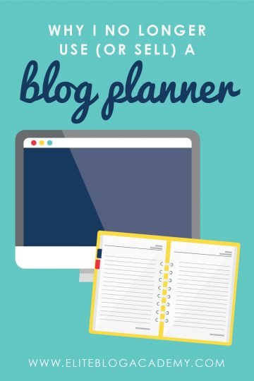 Want to know why I no longer sell a blog planner? Because I created something even better. Something that would help you organize your whole life, not just your blog.