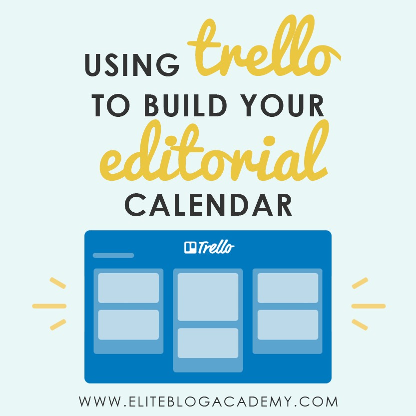 As bloggers, our minds are running a million miles a minute. From new post ideas, technical to-dos, posts in progress, there is always something that needs to be done! Don't miss this post on how to use Trello for creating your editorial calendar for free: #blogging #blogginghelp #eliteblogacademy #trello #editorialcalendar