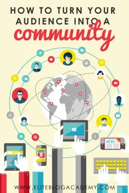 How do you turn your audience into a community who loves you and adores your blog? How do you create a following who anxiously waits to purchase your latest product? Don't miss these strategies on how to turn your readers into a community of brand ambassadors! #eliteblogacademy #blogging #makemoneyonline #makemoneyblogging #growyourbrand