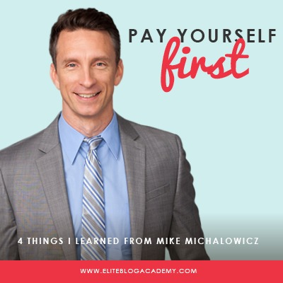 It seems like no matter how much we make, so many of us end up living paycheck to paycheck. But what happens when you start paying yourself first? In this episode of the Do It Scared Podcast, Mike Michalowicz, bestselling author of Profit First, talks about why you need to put profit first, kill your ego, and learn from your biggest mistakes! #eliteblogacademy #doitscared #profitfirst #ruthsoukup #mikemichalowicz