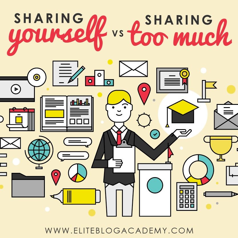 Have you ever stumbled upon someone's website, hoping that it would finally provide solutions to your problems? But instead, you find yourself scrolling through a detailed personal story. There is such a fine line between presenting the authentic you and going so far that you lose readers. So how do you navigate between sharing yourself without oversharing?