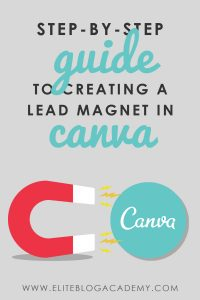 Have you ever wondered how to create a lead magnet, but lack design expertise? Don't miss this simple step-by-step guide to creating a lead magnet in Canva!