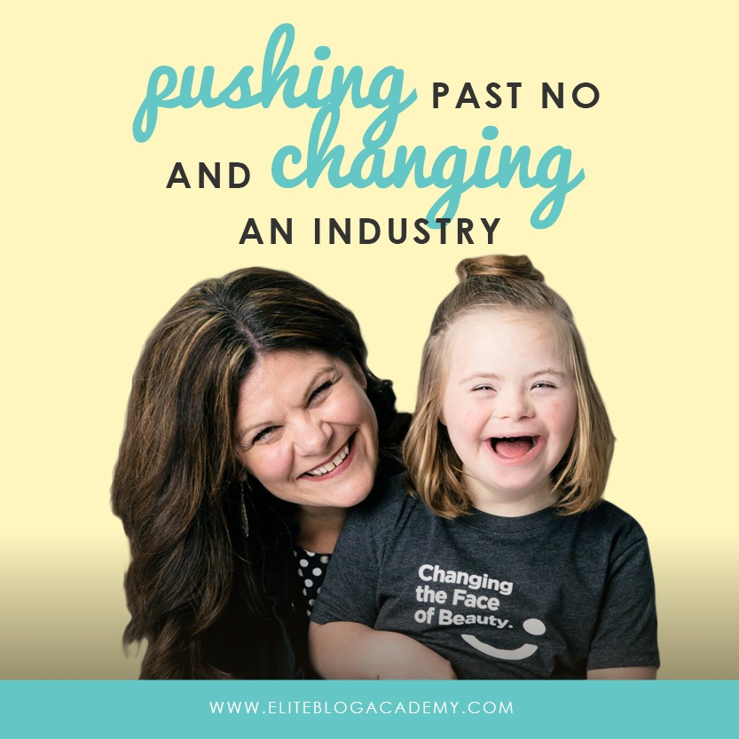 In business, it's SO easy to just go with what you know works. But what if changing how you do things is actually a smart move, both financially and socially? Don't miss this inspiring Do It Scared Podcast episode w/ guest Katie Driscoll, founder of Changing the Face of Beauty! #eliteblogacademy #doitscaredpodcast #doitscared #ruthsoukup #katiedriscoll #changingthefaceofbeauty #blogging