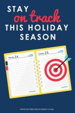 Stay on Track This Holiday Season