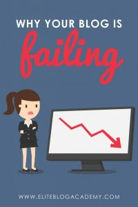 4 Reasons Why Your Blog is Failing