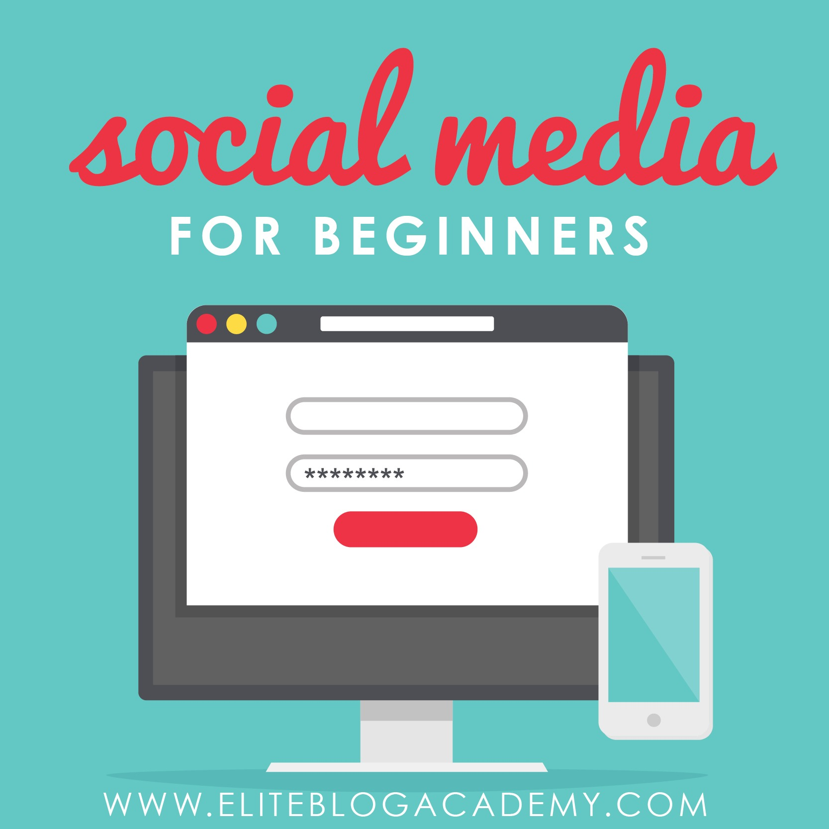 How important is social media at the beginning of your blogging business? While you definitely want creating great content to be at the top of your priorities, there are some things you should do on social media right away! Don't miss this post to find out how to handle social media for beginners.  #socialmediatips #blogging #socialmedia