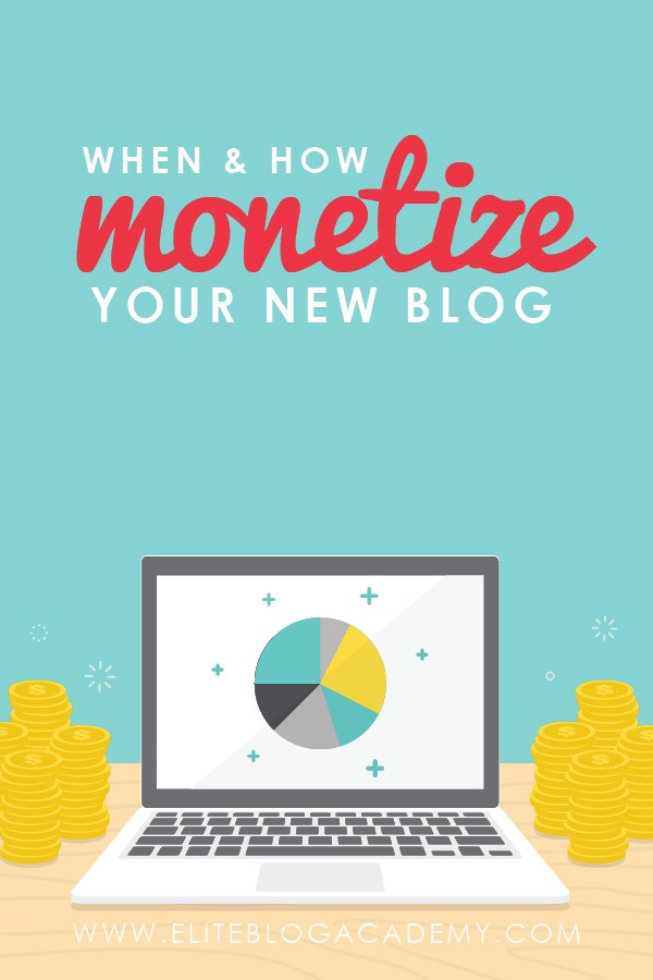 When and how should you monetize your blog? While the possibilities are endless, these 4 primary monetization options are a great place to start!