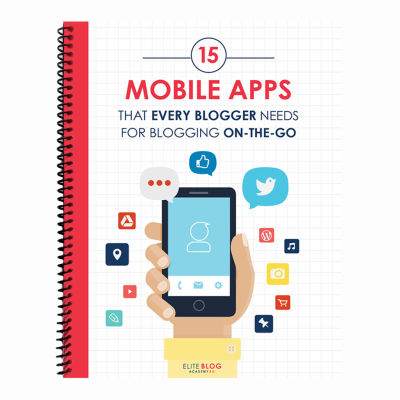Must-Have Mobile Apps for Blogging on the Go 3D