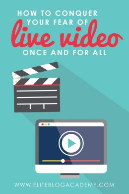 As bloggers, most of us are already aware that live streaming is the next big frontier, but it's also something that a lot of us fear! What if we look silly? What if no one watches? Sometimes you just have to toss your fears aside and do it scared! With these 4 easy steps, you'll conquer your fear of live video and start streaming like a pro in no time!